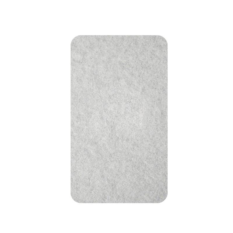 Samolepljive podloške od filca, bele 16 x 44 x 3mm