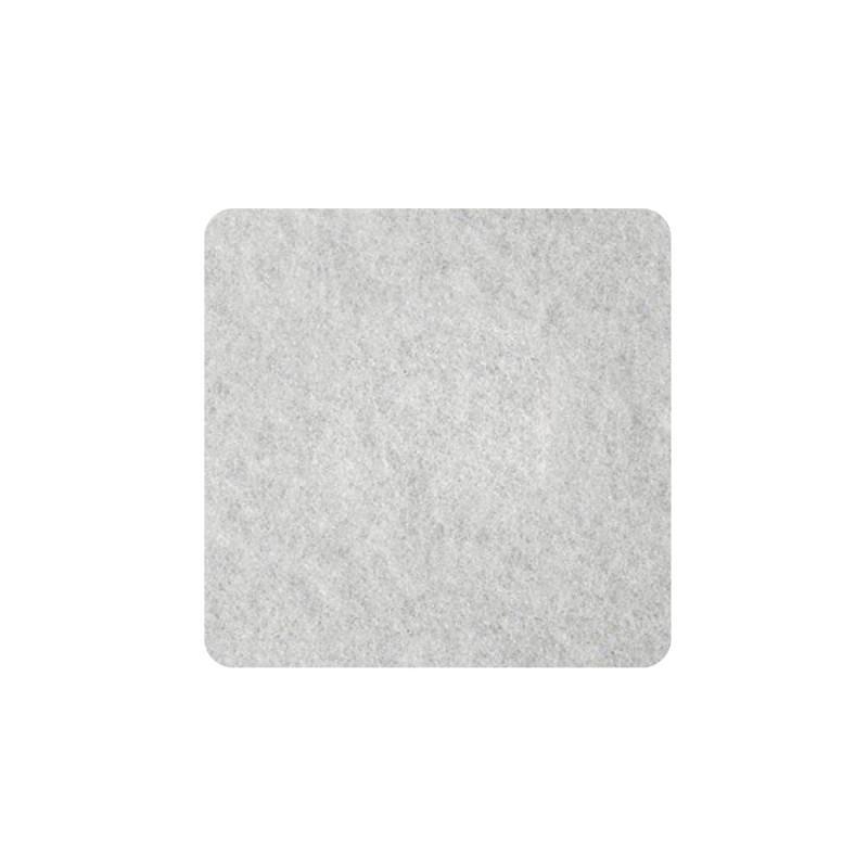 Samolepljive podloške od filca, bele 22 x 22 x 3mm