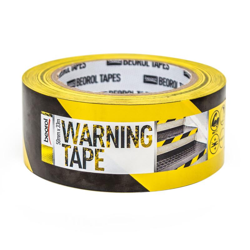 Selotejp za obeležavanje 50mm x 33m, žuto/crni