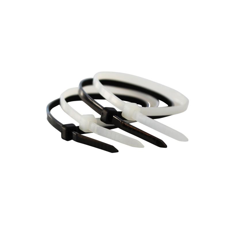 Vezica plastična crna 4.8x300mm 100kom