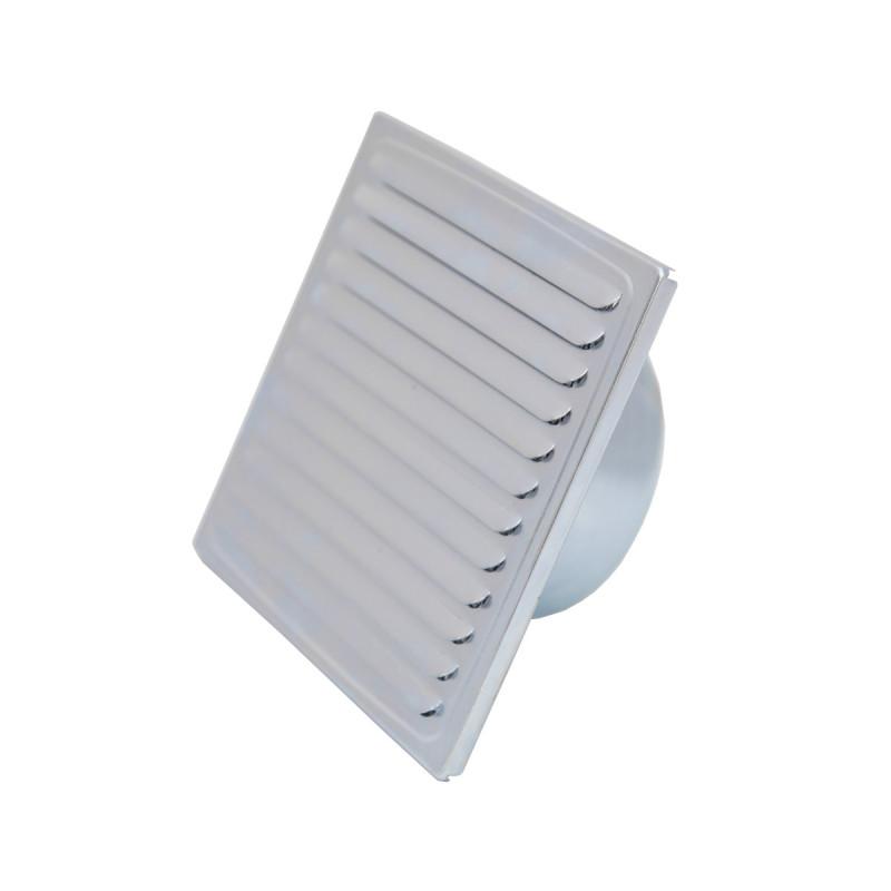 Ventilaciona rešetka pocinkovana Ø 100, 150x150